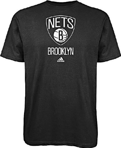 NBA Brooklyn Nets Primary Logo T-Shirt, Medium, ()