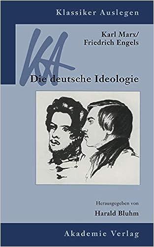 Die Deutsche Ideologie Amazon
