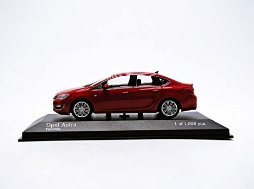 Minichamps 410042001 2012 Opel Astra in Red 1:43