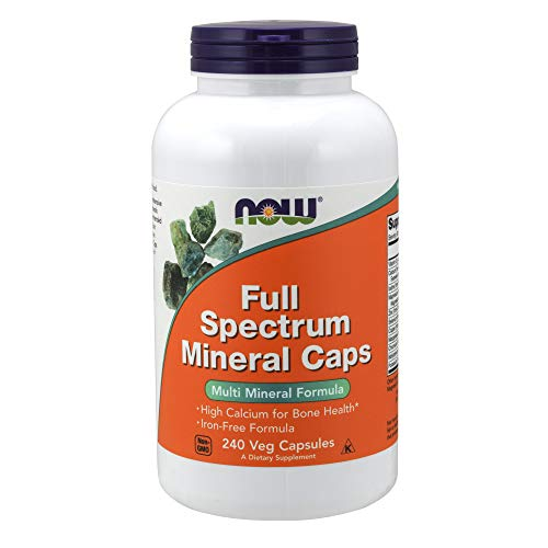 (NOW Supplements, Full Spectrum Mineral, 240 Veg Capsules)