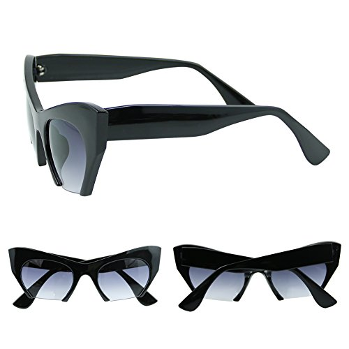 Best-topshop Women's Leopard Cat Eye Sunglasses Retro - Topshop Eye Cat Sunglasses