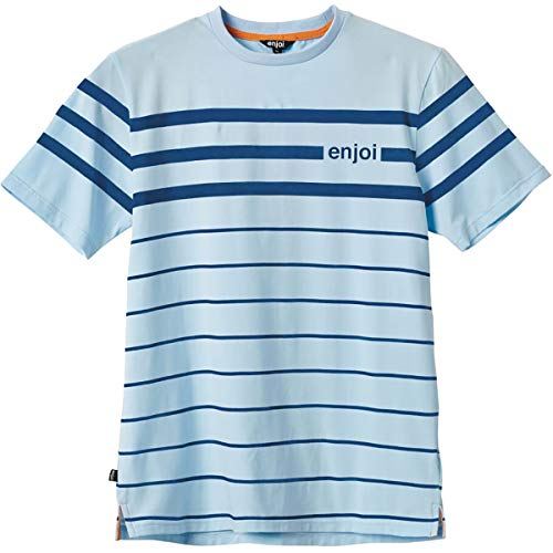 Enjoi Men's Power Slide Shirts,Medium,Blue