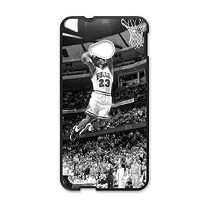 Bulls 23 basketball player Cell Phone Case for HTC One M7 wangjiang maoyi