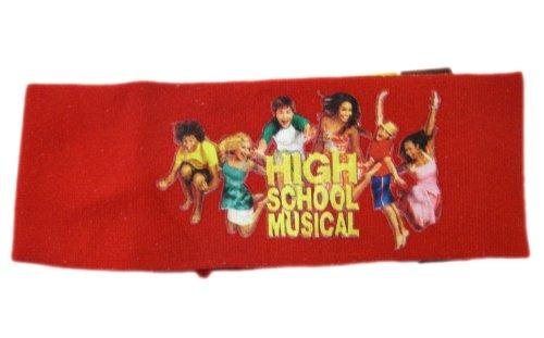 [Disney High School Musical Headband - High School Musical Red Head Wrap] (Hsm Costumes)