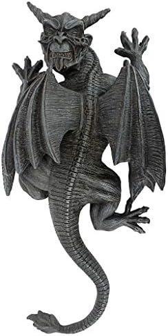 Design Toscano PD2103 Gargoyle Demon on the Loose Gothic Decor Wall Sculpture