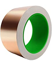 Rekuopl Dubbele geleiding 0,05 mm dikke zelfklevende koperen folie tape, WWRme afleiding afschermende geleidende koperen folie tape