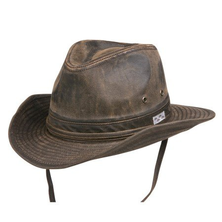Bounty Hunter Water Resistant Cotton Hat Brown Small (Brown Small Hat French)