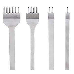 4pcs del cuero diy perforadoras herramientas artesanales Herramientas artesanales