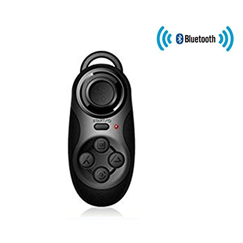 Ctronics® Wireless Bluetooth Gamepad Remote Controller Compatible with 3D TV VR Camera Glasses Selfie Shutter...