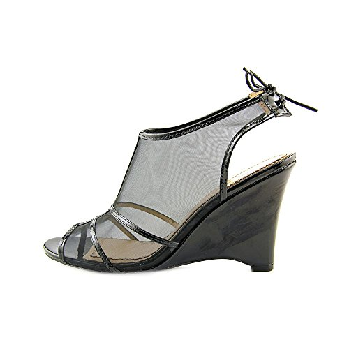 Pour La Victoire Women's Bee Wedge Sandal Black Pmdl57NLeo
