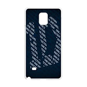 One Direction Samsung Galaxy Note 4 Cell Phone Case White Exquisite gift (SA_452918)