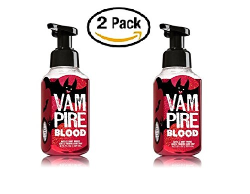 Bath and Body Works Halloween Vampire Blood 2017 Foaming Hand Soap  2 Pack (Halloween Soaps)