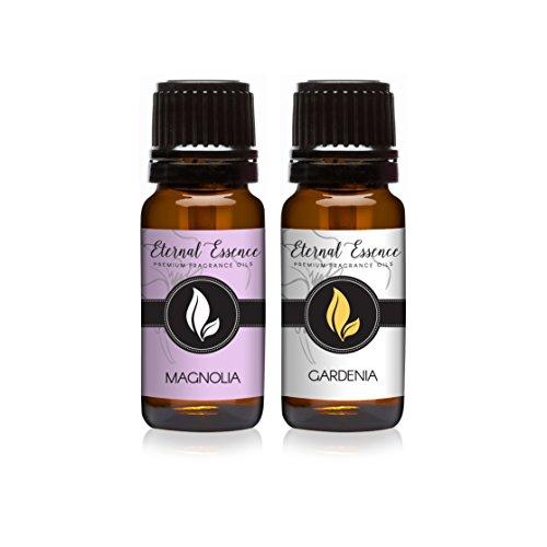 (Pair (2) - Magnolia & Gardenia - Premium Fragrance Oil Pair - 10ml)