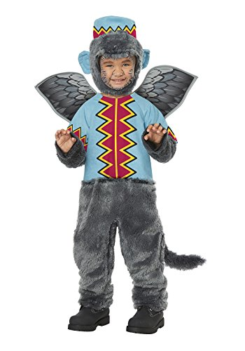 Oz Monkey Costume (Flying Winged Monkey Of OZ - Toddler Size Medium (3-4))