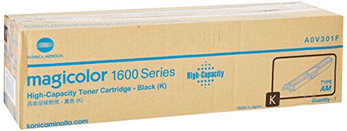 Konica Minolta High Capacity Black Toner Cartridge, 2500 Yield (A0V301F) (Cartridges Minolta Laser Printer)