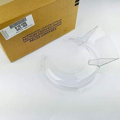 Compra KitchenAid KN1PS - Protector anti salpicaduras (1 pieza) para los robots de cocina 5KSM90/5KSM150 Artisan en Amazon.es