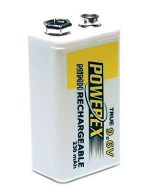 Maha Powerex MH-96V230 9.6V 230mAh Rechargeable NiMH Battery