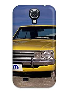 Tpu Case Cover For Galaxy S4 Strong Protect Case - Dodge Dart Old Car Design