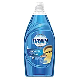 Dawn 91544 Liquid Dish Detergent, Ultra Concentrated, Original Scent, 21.6 oz. Bottle (Pack of 10)