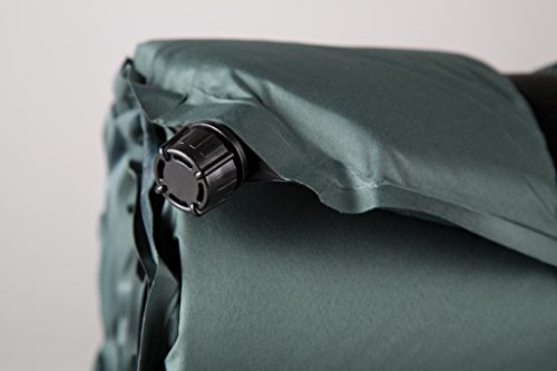 Stansport Self-Inflating Air Mattress, Forest Green (25- X 72- X 1.5-Inch)