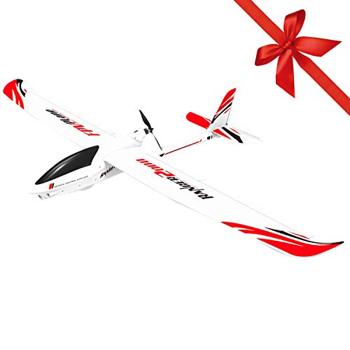 FUNTECH RC Plane RFT 2M Remote Control Airplane Brushless 1400KV Poweful Motor 2.4GHz 6 Channels 6 Axis Gyro Stabilizer…
