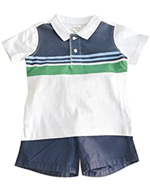 Baby Boy Infant and Toddler Shorts Clothing Sets