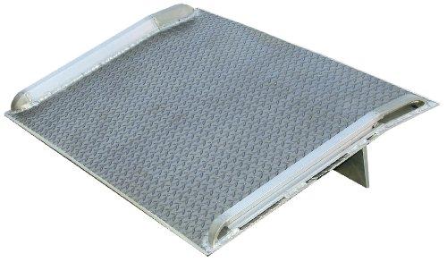 Vestil-BTA-15007872-Aluminum-Truck-Dockboard-15000-lb-Capacity-78-x-72-Silver