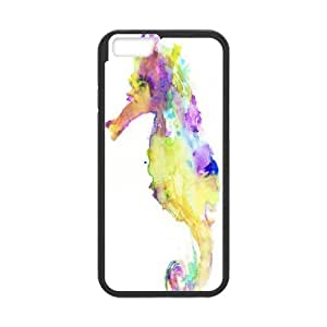 "UNI-BEE PHONE CASE For Apple Iphone 6,4.7"" screen Cases -Funny Sea Horse-CASE-STYLE 13"