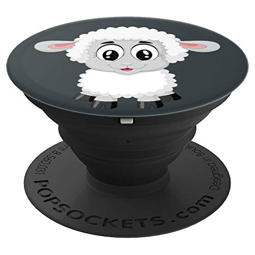 Cute Sheep Adorable Lamb - PopSockets Grip and Stand for Phones and Tablets