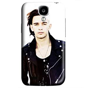 S4 case ,Samsung Galaxy S4 case ,Fashion Durable 3D design for Samsung Galaxy S4,PC material Phone Cover ,Designed Specially Pattern with Matthew Healy,the 1975.