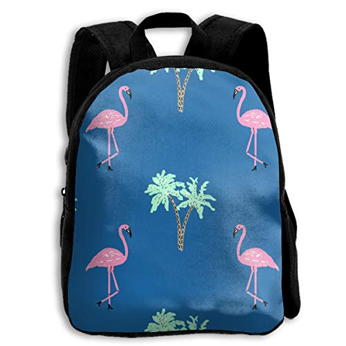 B-Dream Flamingo Children School Backpacks for Boys and Girls with Reinforced Straps ()