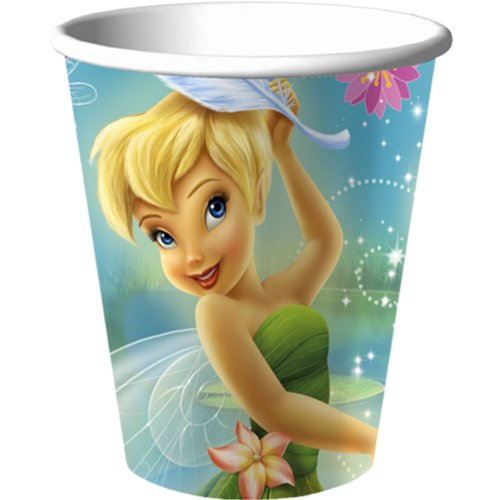 Disney Fairies Tinkerbell Party Favors - 9 oz Cups