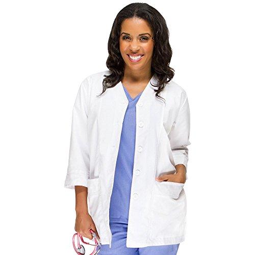 Womens Basic Lab Coats - allheart Basics by Women's &Frac34; Sleeve 29