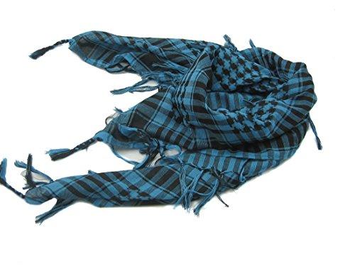 AmazingOS® Premium Shemagh Keffiyeh Head Neck Military Tactical Desert Scarf Wrap