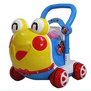 Andador Prevención de vuelcos for niños Caminante 6-7-18 Meses 1 ...