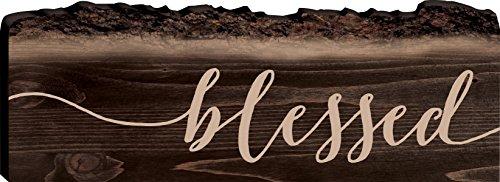 blessed-rustic-dark-6-x-16-wood-bark-edge-design-wall-art-sign