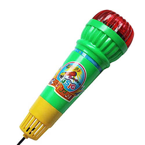 Move on Kids Echo Microphone Mic Voice Changer Toy Children Birthday Party Song Toy Random Color