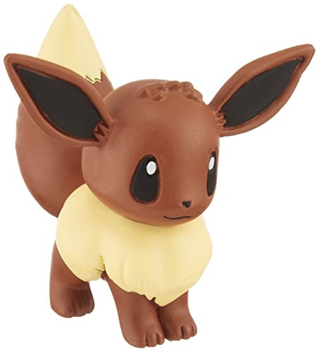 Takaratomy Pokemon Sun & Moon EX EMC-09 Mini Action Figure, Eevee
