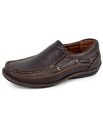 Mens Lounging Loafers Brun
