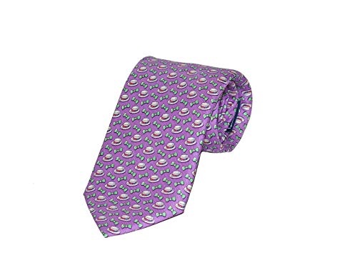 Vineyard Vines Men's Kentucky Derby Boaters and Bow Tie