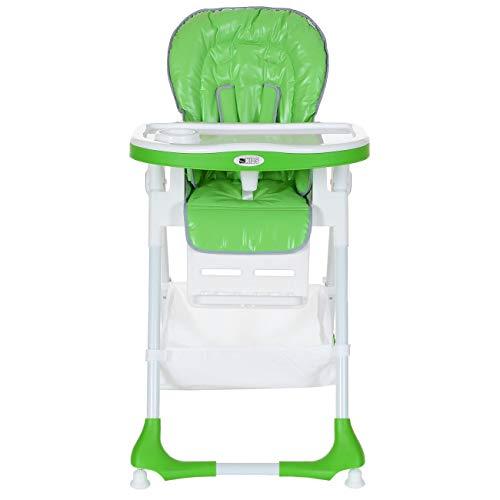 Kg Capacité; Chaise Bébé Inclinable; Réglable Vert Hauteur 20 Haute Pliante; ULVpGzqjSM