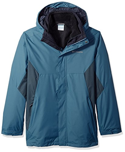 Columbia Men's Big and Eager Air Interchange 3-in-1 Jacket, Blue Heron, Mystery, 2X Tall