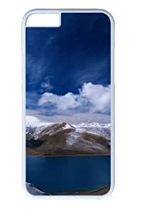 Beautiful Lake Polycarbonate Hard Case Cover for iphone 6 plus 5.5 inch White wangjiang maoyi