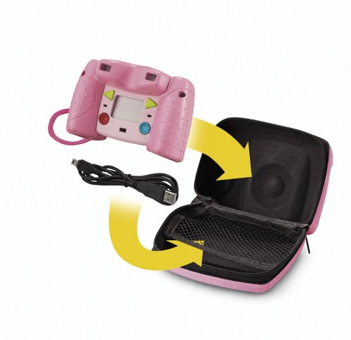 Kid-Tough Digital Camera Case - Pink - Kid Tough Digital Camera Case