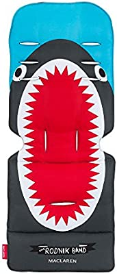 Maclaren Universal Seat Liner- Perfect Stroller Accessory to add Style and Comfort Two-Sided Machine Washable Attaches to Harness Straps of All Maclarens and All Umbrella-fold Stroller Brands