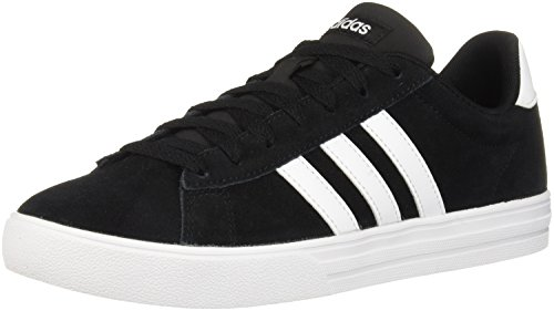 adidas Men's Daily 2.0 Sneaker, Black White, 9 M US