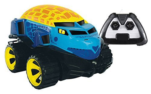 [RC-01 New Amphibious Remote Control Blue Turtle Car Kids Holiday Gift] (Kid Raptor Costume)