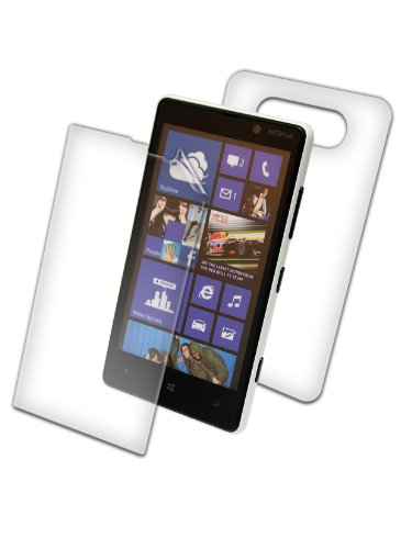 InvisibleShield for Nokia Lumia 820 - 1 Pack - Screen Protectors - Retail Packaging - Full Body