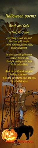Halloween Poems Bookmark Set of 6 -