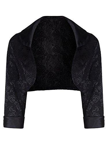 Love Camden Damen Mantel schwarz schwarz Einheitsgröße